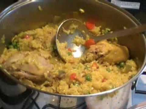 Como hacer arroz con pollo chef remy cocina youtube for Como se prepara el arroz