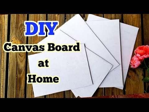 how to make canvas