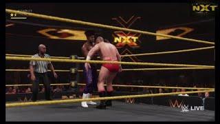 Velveteen Dream vs. Lars Sullivan | WWE NXT: Nov.7, 2018