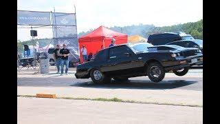 Blacklist Buick 8.78s. in-car run on Kiltsi Airfield