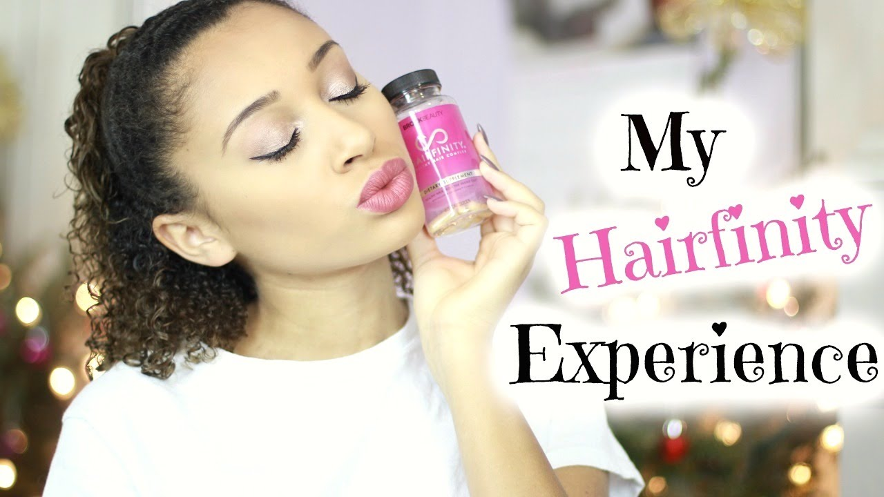 HAIR GROWTH PILLS Hairfinity Vitamins Review YouTube