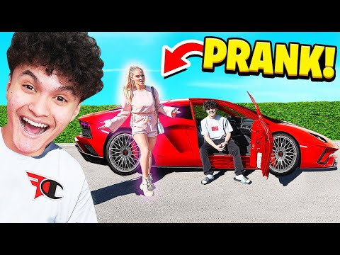 GOLD DIGGER PRANK ON EX GIRLFRIEND!!