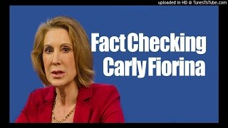 Carly Fiorina Lied About Drugs, Marijuana Death, Fact Check