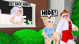 I SNUCK OUT OF THE HOUSE TO SEE MY BOYFRIEND ON BLOXBURG! (Roblox)