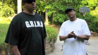 BIG VISION & DJ SUPREME  Outside Dungeon Family Studio \ Organized Noise Productions