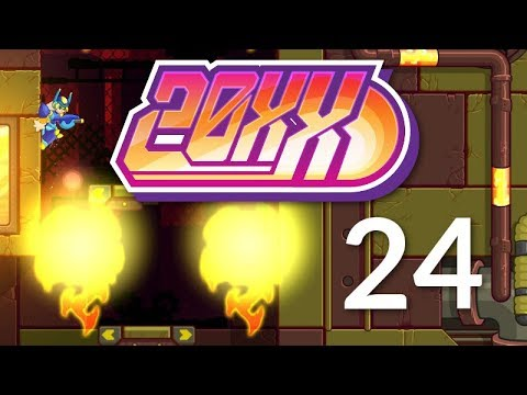 Hupfen's Part-Timers - Let's Play 20XX - Episode 24 (Guinea)
