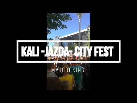 Kali - Jazda - City Fest Piestany #Majcoo