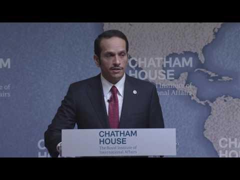 Qatar FM Speech at Chatham House about Gulf Crisis