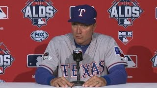 TEX@TOR Gm5: Jeff Banister on Rangers