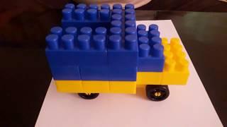 как сделать машинку из конструктора лего