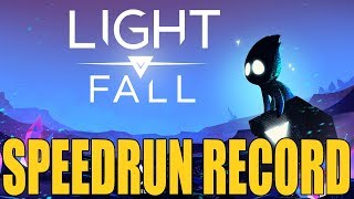 LIGHT FALL SPEEDRUN WORLD RECORD - Welcome To Numbra Hard ANY% Speedrun | Birdalert