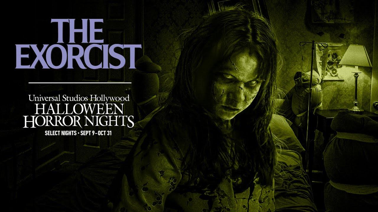 The Exorcist Returns to #UniversalHHN 2021