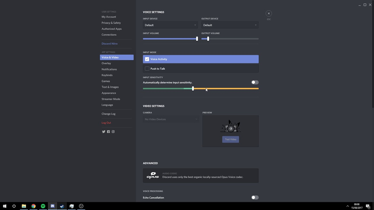 How to set up your Discord voice detection!