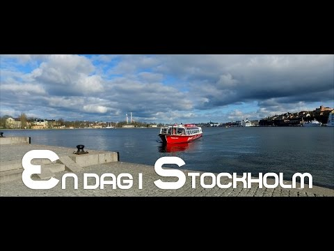 A day in Stockholm - DJI OSMO + IPHONE 6