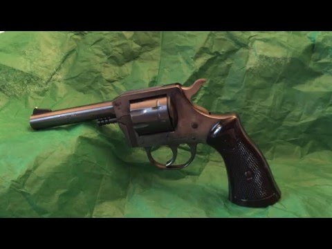 H&R Model 929 Revolver Review - Part 1 - YouTube