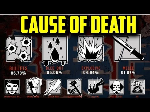 Rainbow Six Siege The Cause of Death