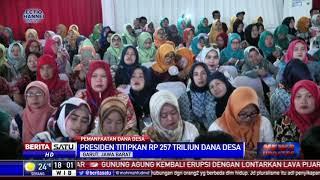 Jokowi Ingatkan Dana Desa Digunakan Maksimal