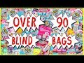 OVER 90 BLIND BAGS OPENING 🎁 Squish-Dee-Lish & MORE Surprise Toys Compilation | Trusty Toy Channel