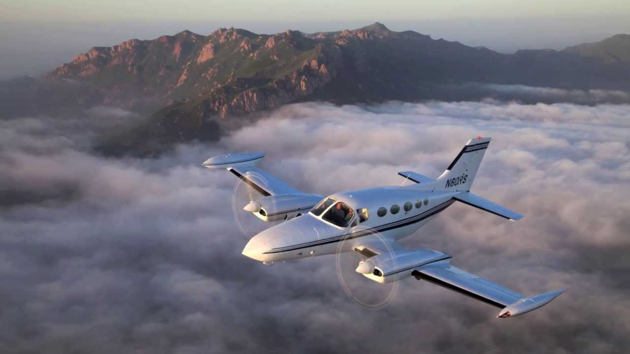 Photo Flight Cessna 421 Over Malibu YouTube