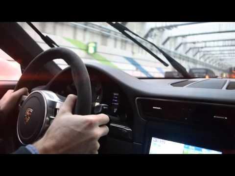 Redlining a 911 GT3!!