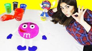 M&M's из ЛИЗУНА!