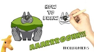 How to draw The AAARRRGGHH!!! | Trollhunters