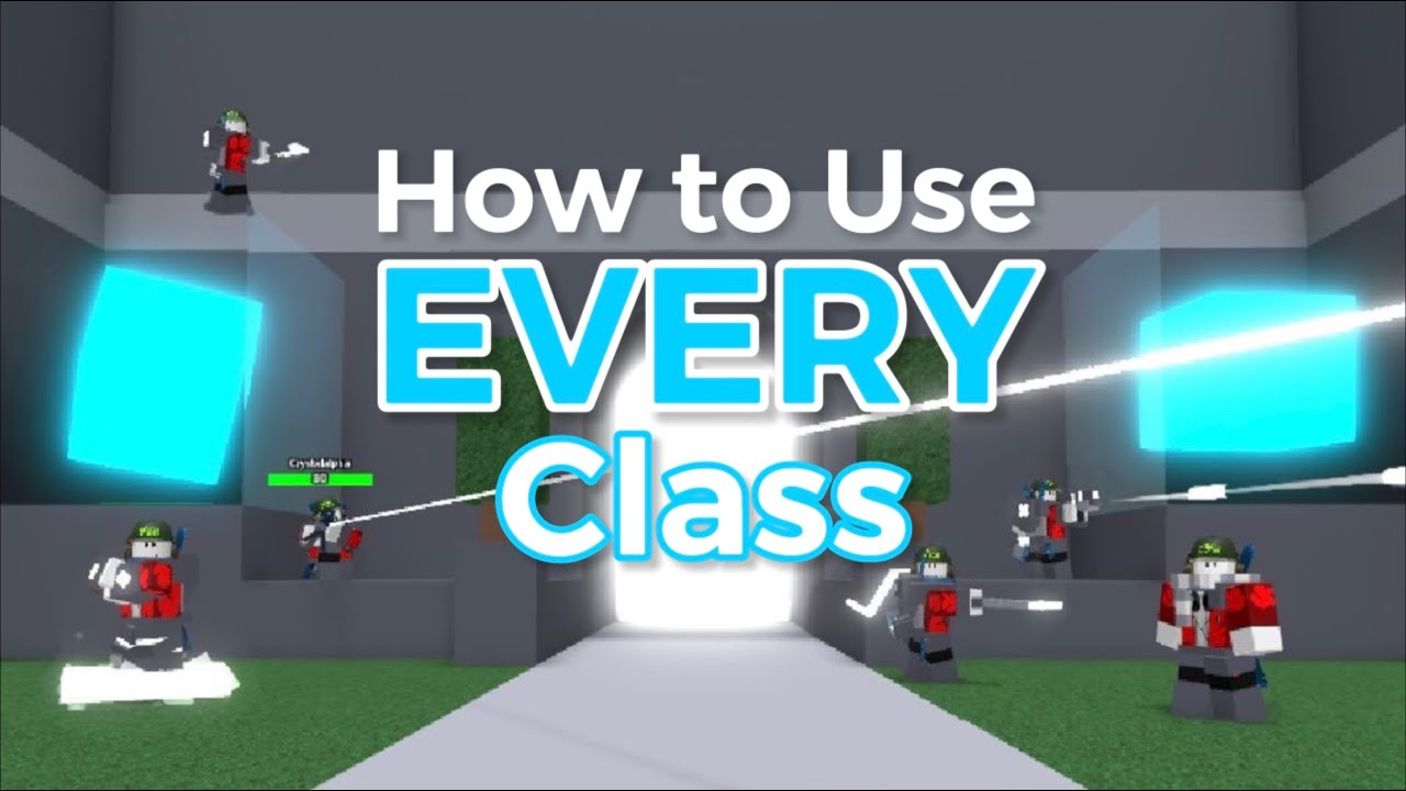 How To Use Every Class Project Submus Accudo Roblox Youtube