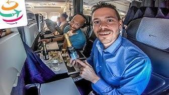 British Airways Business Class A319 von Zürich nach London | YourTravel.TV