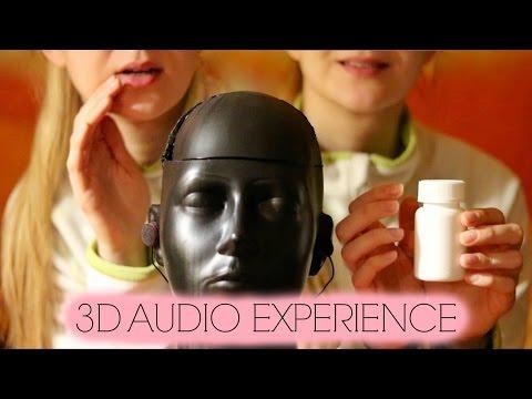 3D ASMR ♥ Binaural Dummy Head: Triggers All around You