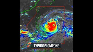 Signal No. 1 in nearly entire Luzon due to Typhoon Ompong