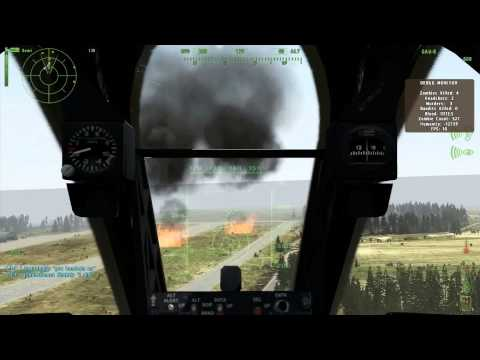 DayZ | The Pilot- Episode 3 | A-10 Jet, Hind Attack Heli, Dogs