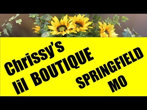 Chrissy's lil Boutique in Springfield MO   Unique Boutique and Reviews
