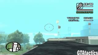 GTA San Andreas - Mision #47 - Air raid - Tutorial