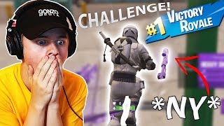 Prøver *NY* Heavy Sniper I Fortnite: Battle Royale (Default Dance *CHALLENGE*)