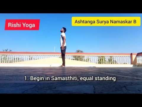 ashtanga surya namaskar b / ashtangayoga sunsalutation