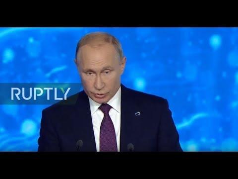 LIVE: Putin attends