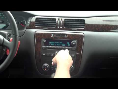 2012 Chevy Impala LTZ  Radio Features