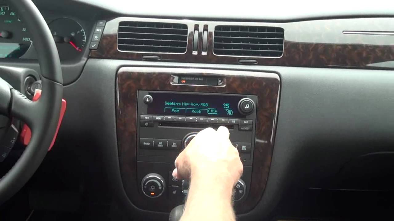 2012 Chevy Impala LTZ - Radio Features - YouTube