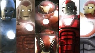 Iron Man - The Game -  All Suits/Armors Unlocked