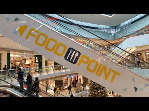 Food-Point: Großer Andrang im neuen Gastro-Bereich im Kasseler City-Point
