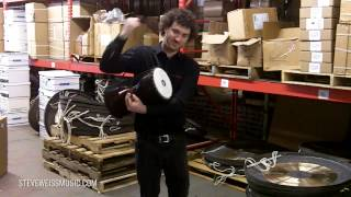 Meinl Talking Drum Demo with Adam Anderson from Meinl