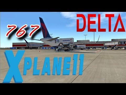 X-Plane 11 DELTA B767 Atlanta️Orlando by MESHAL SVA205