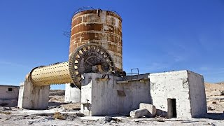 Nevada's abandoned cement factory
