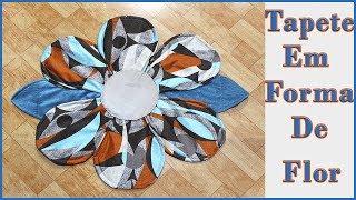 Tapete Flor – Veja Como Fazer um Lindo Tapete