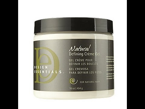 Natural Hair Twist Out Design Essentials Defining Creme Gel