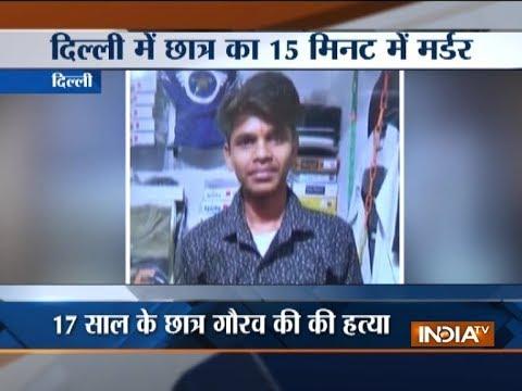 Student beaten to death in Delhi