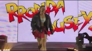 WWE Monday Night RAW July 30 2018 RONDA ROUSEY vs. NIA JAX - WWE RAW 7/30/18