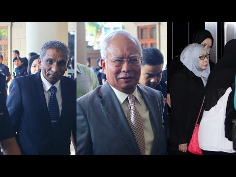 Najib, Irwan and Hasanah in court to face CBT charges