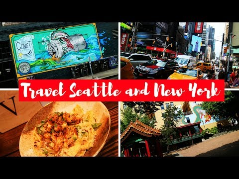 TRAVEL AMERICA: SEATTLE AND NEW YORK