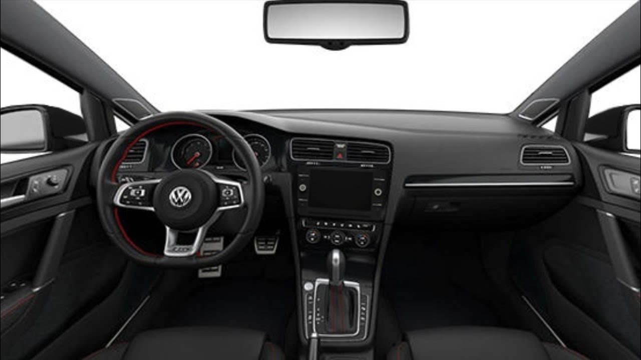 Interior Of The Volkswagen Golf Gti Autobahn 2019 Facelift Youtube